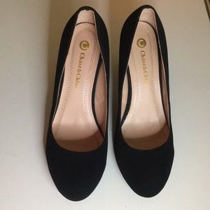 Chase and Cloe black pare of shoes size9.